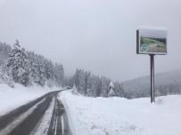Giresun'da Kar Yağışı İç Ve Yüksek Kesimlerde Etkili Oluyor