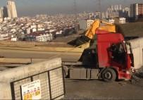 İŞ KAZASI - Hafriyat Kamyonunda Can Pazarı