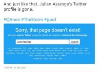EKVATOR - Julian Assange'nin Hesabı Twitter'dan Silindi