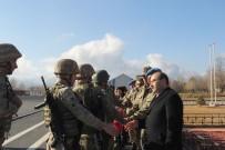 MEHMET ALİ ÖZKAN - Komandolar Suriye'ye  Dualarla Uğurlandı