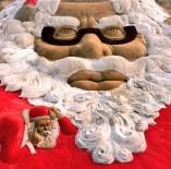 NOEL BABA - Kumdan En Büyük Noel Baba Heykeli
