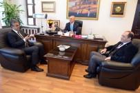 ALİ KORKUT - MHP Milletvekili Kamil Aydın'dan Korkut'a Ziyaret