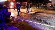 KARADENIZ SAHIL YOLU - Polisten Kaçarken Kazaya Yol Açtı