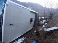 Sarıkamış'ta Trafik Kazası Açıklaması 9 Yaralı
