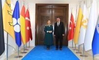 BÜYÜKŞEHİR YASASI - Çalık'tan Başkan Gürkan'a Övgü