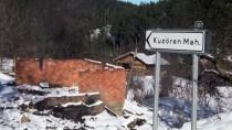 KUZÖREN - Evleri Yanan Aileye 28 Gündür Ulaşılamıyor