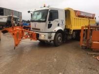 GÖVDELI - Eyüpsultan Belediyesi Özel Araçlarıyla Kışa Hazır