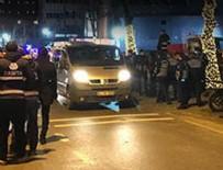 KALDIRIM ÇALIŞMASI - İstanbul'un göbeğinde gece yarısı gergin anlar