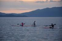 SU SPORLARI - Köyceğiz'de Kürek Milli Takım Seçme Yarışları