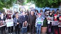 KIZILHAÇ KOMİTESİ - Lübnan'da 'Filistinli Cesur Kız' Temimi'ye Destek Gösterisi