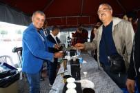 ŞÜKRÜ SÖZEN - Manavgat Belediyesi'nden Kahve İkramı