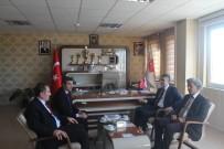 TÜRK SAĞLıK SEN - MHP Erzurum Milletvekili Kamil Aydın, ASP İl Müdürlüğünü Ziyaret Etti