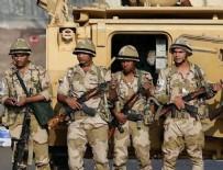 İDAM MAHKUMU - Mısır'da askerlerin öldürüldüğü olaylara karışan 15 kişi idam edildi!