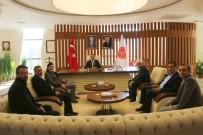 Nevşehir Sigorta Acenteleri Derneği, Rektör Bağlı'yı Ziyaret Etti