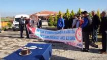 Osmaniye'de Taşeron İşçilerden Davullu Zurnalı Kutlama