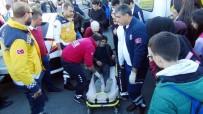 ELEKTRİKLİ BİSİKLET - Şanlıurfa'da Elektrikli Bisiklet Kazası Açıklaması 1'İ Öğrenci, 2 Yaralı