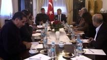 ÜRDÜN KRALI - Ürdün Temsilciler Meclisi Filistin Komisyonu Üyeleri Büyükelçi Karagöz'le Görüştü