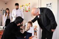ALI AYDıN - Adıyaman Üniversitesi Kreşindeki Minikler Sağlık Taramasından Geçirildi