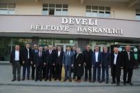İLYAS ŞEKER - AK Parti Başkan Yardımcısı İlyas Şeker Develi'yi Ziyaret Etti