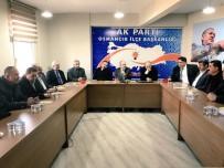 SALİM USLU - AK Parti İl Başkanı Mehmet Karadağ;