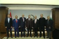 HACI BEKTAŞ-I VELİ - Alevi Vakıflar Federasyonu Başkan Çelik'i Ziyaret Etti