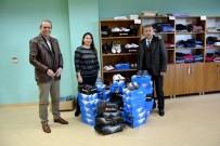 SPOR AYAKKABI - Araştırma Proje Eğitim Kooperatifi'nden ÇOMÜ Butik'e Bağış