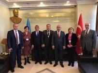 HAYDAR ALİYEV - Asimder, Azerbaycan Kars Başkonsolosu Guliyev'i Ziyaret Etti