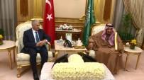 ABDÜLAZIZ EL SUUD - Başbakan Yıldırım Kral Selman'la Görüştü