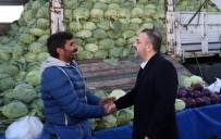 PAZARCI - Başkan Ercan'dan Semt Pazarlarına Ziyaret