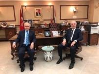 FAHRİ DOKTORA - Başkan, Güral'ı Tebrik Etti