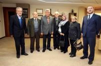 EMEKLİ ASTSUBAYLAR DERNEĞİ - Başkan İbrahim Karaosmanoğlu, STK Temsilcilerini Ağırladı