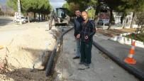 Burhaniye Ören'de Su Şebekesi Yenileniyor