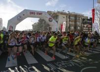 TÜRKİYE ATLETİZM FEDERASYONU - Büyük Atatürk Koşusu'nda 82. Yarış Yapıldı