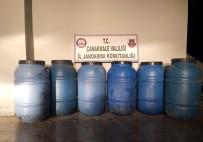 ZEYTINLI - Çanakkale'de Yılbaşı Öncesi Kaçak İçki Operasyonu