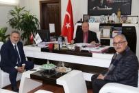 ERDEMIR - Çetindoğan Ve Erdemir'den Başkan Özakcan'a Ziyaret