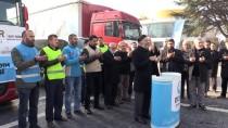 YARDIM MALZEMESİ - Düzce'den Haleplilere Kışlık Yardım