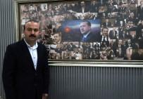 SENFONI - Erdoğan Sevgisini Panoya İşledi