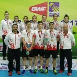 GÜMÜŞ MADALYA - Erzincanlı Sporcular Türkiye'nin Gururu Oldu