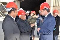 AŞKALE ÇIMENTO - ETSO'yu Ziyaret Eden Etiyopya Büyükelçisi Workneh;