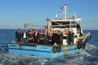 DEREKÖY - Genel Müdür Atalay, Denizde Salyangoz Avcılığını İnceledi