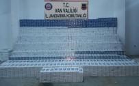 ŞÜPHELİ ARAÇ - Jandarmadan Kaçak Sigara Operasyonu