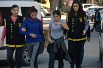 KİBARİYE - Kadın Hırsızlar Polise Yakalanınca, Ebe Aradıklarını Söyledi