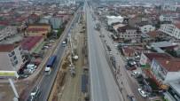 KURUÇEŞME - Köseköy Kavşağı Çalışmaları Sürüyor