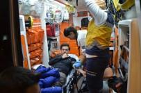 ELEKTRİKLİ BİSİKLET - Milas'ta Otomobil İle Elektrikli Bisiklet Çarpıştı; 1 Yaralı