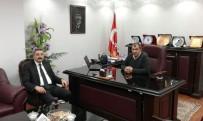 İBRAHIM ŞAHIN - Müdür Göksoy'dan Başkan Şahin'e Ziyaret