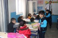 Okul Başkanı Öğrenci, Kaymakam Erat'ı Ziyaret Etti