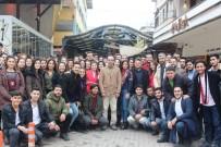 MUSTAFA ASLAN - Rektör Bircan, Öğrenci Topluluklarıyla Nazilli'de Bir Araya Geldi