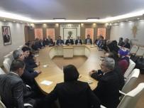 MUSTAFA YıLDıRıM - Salman'dan İlçe Teşkilatlarına Ziyaret