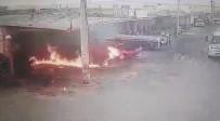 GÜLHANE - Tinerle Ateş Yakmak İstedi, Alev Topuna Döndü