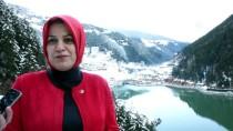 Uzungöl'ün 'Seyir Terası'nda Manzara Keyfi